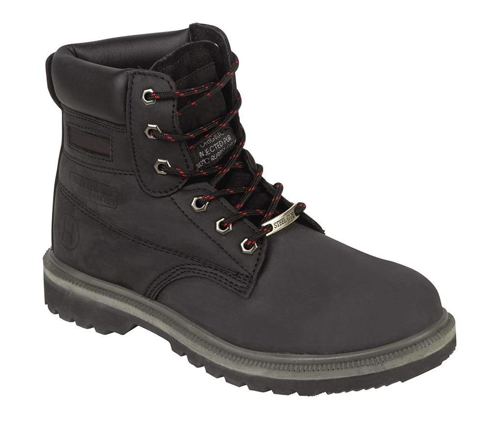 Orbit International 905 Beaver Men Safety Boots Black, Size - 10