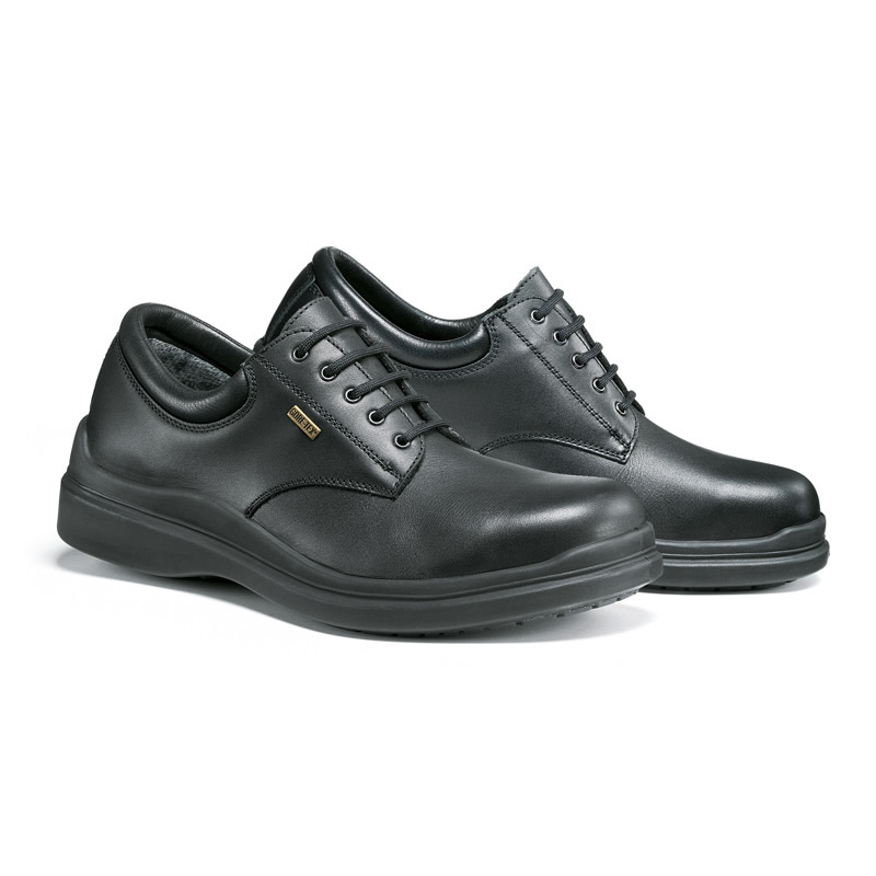 Jolly 810\GA Uniform Waterproof Black Safety Shoes, Size - 4