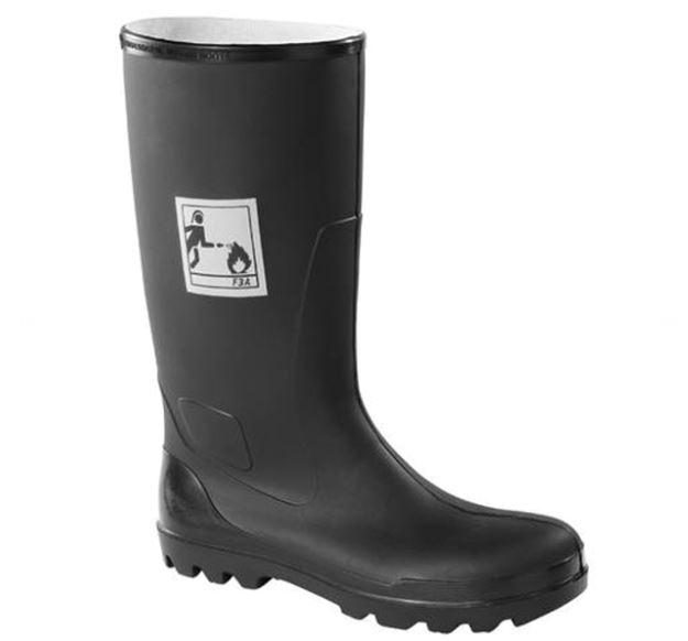 Ansell K72204430 Nitrile Rubber Firemen's Wellington Boots
