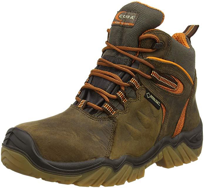 COFRA SIZE 8 9 10 10.5 11 12 REAL GORTEX WATERPROOF STEEL SAFETY CAP WORK BOOTS