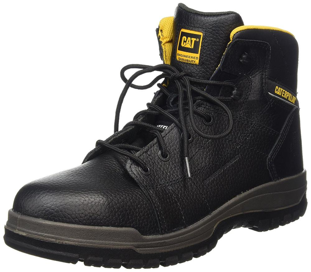 Bbt Stock Quote: CAT Dimen Hi SB Steel Toe Cap Leather Safety Boot