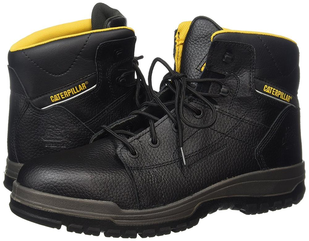 Caterpillar CAT Dimen Hi SB Safety Boots Steel Toe Cap Leather Upper