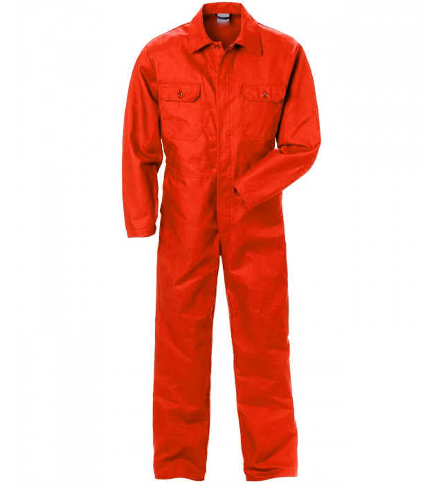 Arvello Kansas Men Polycotton Coverall Orange
