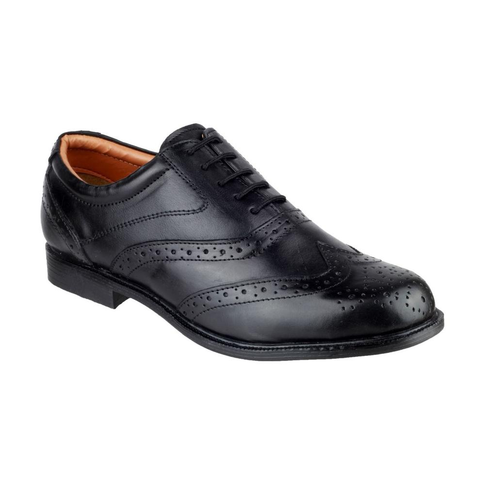 Amblers Leather Liverpool Oxford Non- Safety Shoes