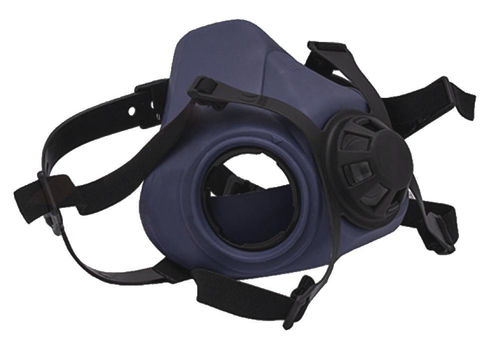 JSP MaxiMask Twin Filter Half Mask Respirator