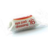 Medicare No.16 Eye Pad Dressing With Fixation Bandage