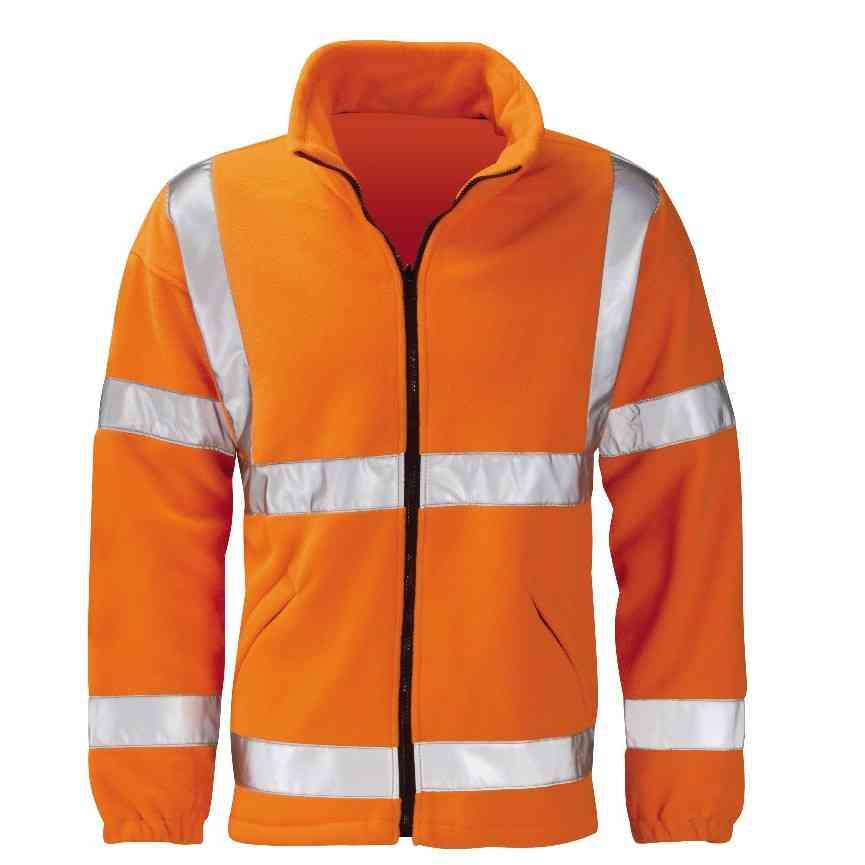 Orbit International HVFLER Gladiator Fleece Jacket Hi Vis Orange