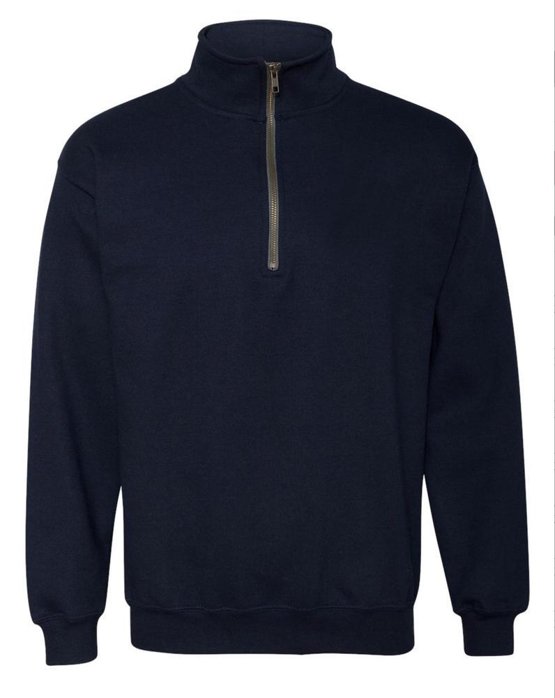 Orbit International FLK Anti-pill Fabric Men Fleece ¼ Zip Navy, Size - Large
