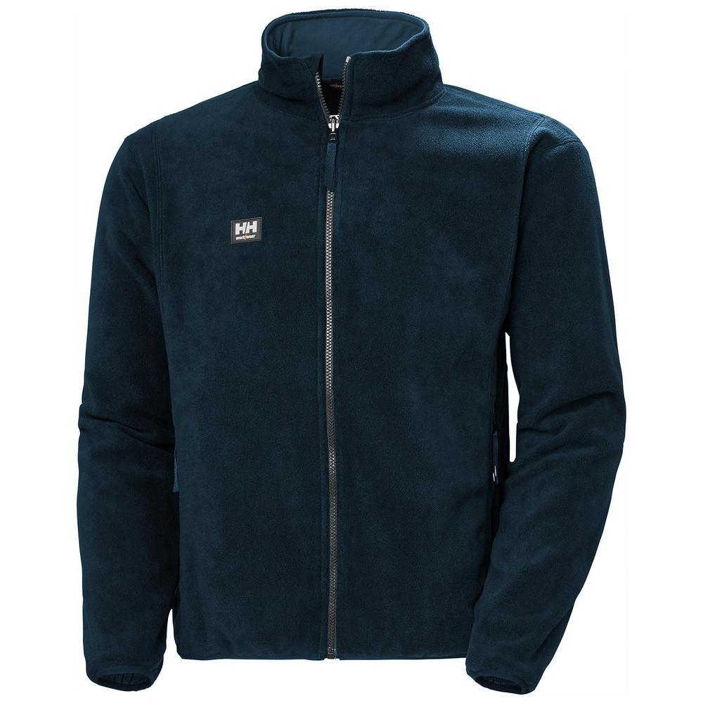 Helly Hansen 72065 Red Lake Men's Fleece Jacket Outdoor Workwear Navy