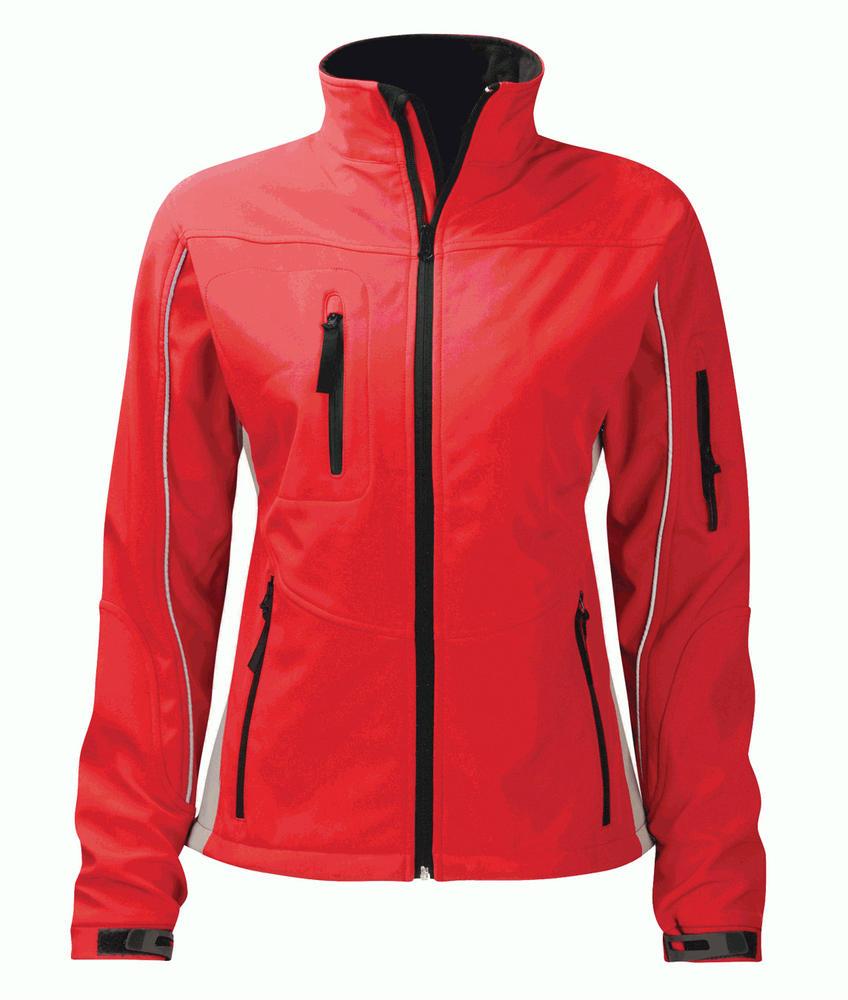 Orbit International SS3L3 Amethyst Ladies Soft Shell Jacket Red
