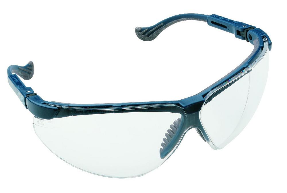 Honeywell Pulsafe 1011027 XC Blue Frame Work Glasses Clear FogBan Lens Safety Spectacles