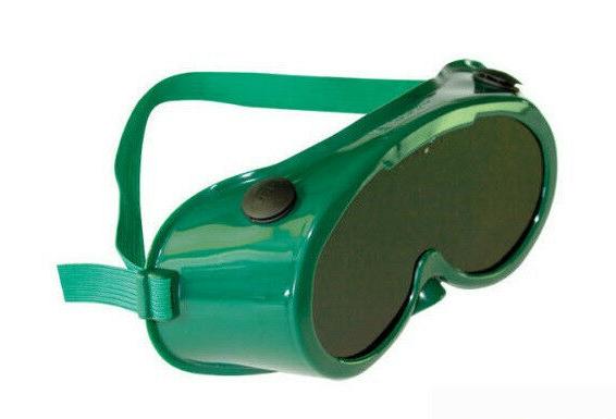 JSP Green PVC GW5 Gas Welding Goggles Shade 5 Eye Protection