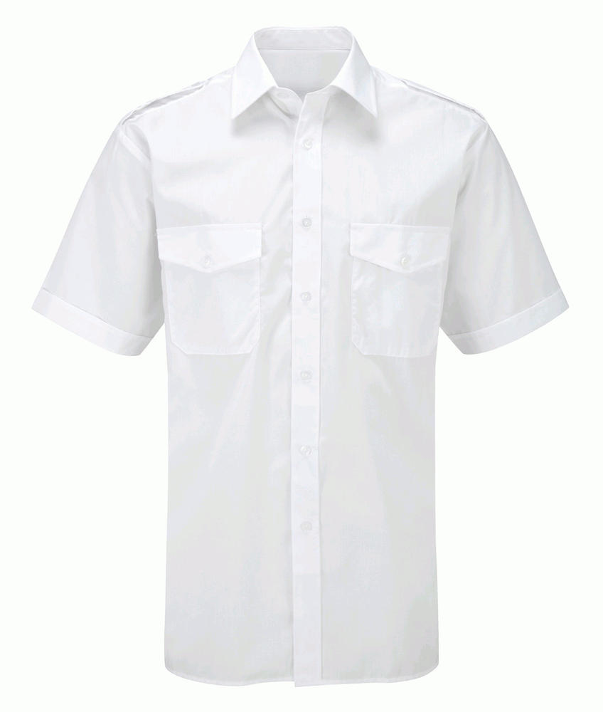 Orbit International CSH5 Men Pilot Shirt Short Sleeve White