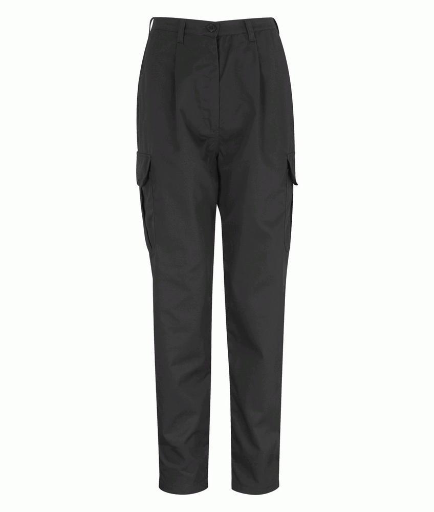 Orbit International PC245LCT Ladies Cargo Trousers - Black