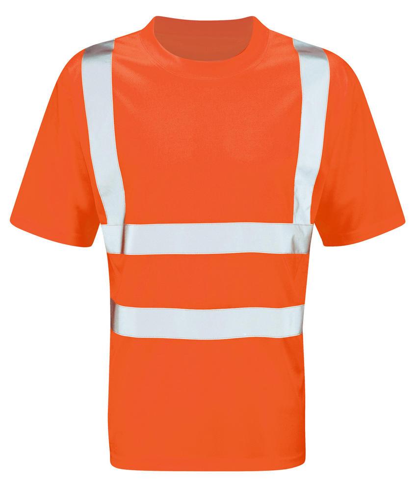 Orbit International HVTEER Viper Men HI Vis Work T-Shirt Orange