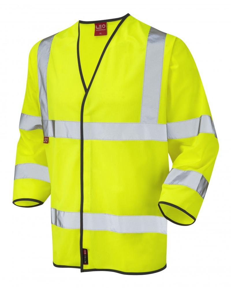 Leo Workwear Kentisbury En 471 Cl 3 Lfs 3/4 Sleeve Waistcoat (En 533)