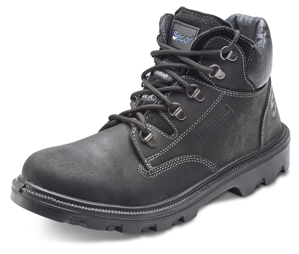 Beeswift ST1152 Sherpa Men Black S3 Safety Chukka Boots