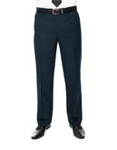 ClubClass Austin Men PolyWool Navy Formal Trousers
