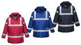 Portwest S785 Bizflame Men FR Rain Jacket Waterproof Anti-Static