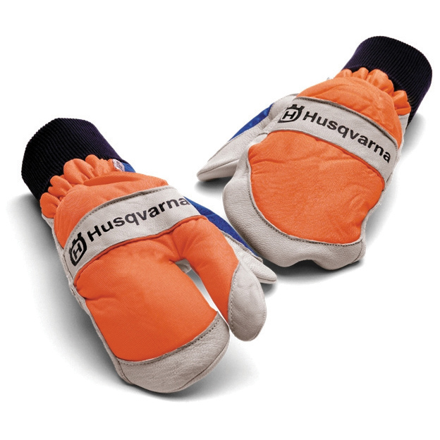 Husqvarna Comfort Saw LH Protection Chainsaw Mitten Style Glove 5056416