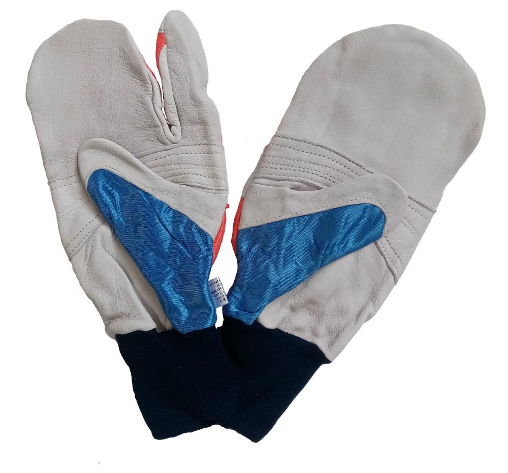 Husqvarna Comfort Saw LH Protection Chainsaw Mitten Style Glove 5056416