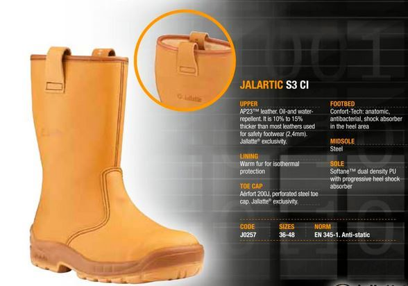 Jalaska Amp Jalatte Safety Rigger Boots London Uk
