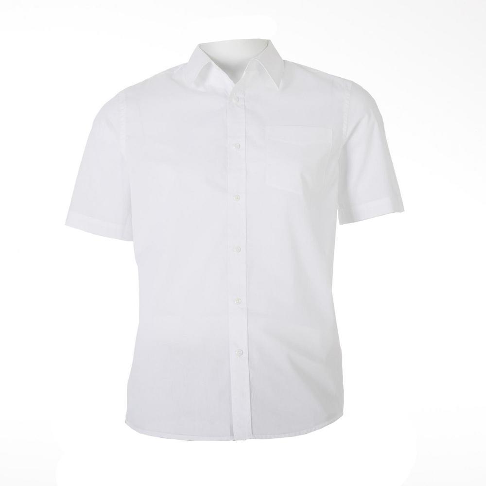 Orbit International Meru Men Short Sleeve White Shirt