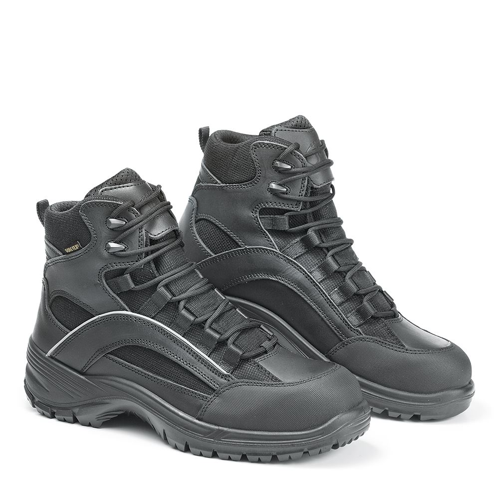 Jolly 6221/GA Leather & Waterproof, Breathable Rescuer Mid Boot Metal Free
