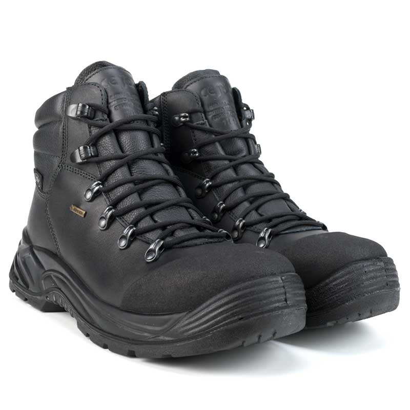 Jolly 840/GA Duty S3 Gore-Tex Waterproof Safety Boots - Black
