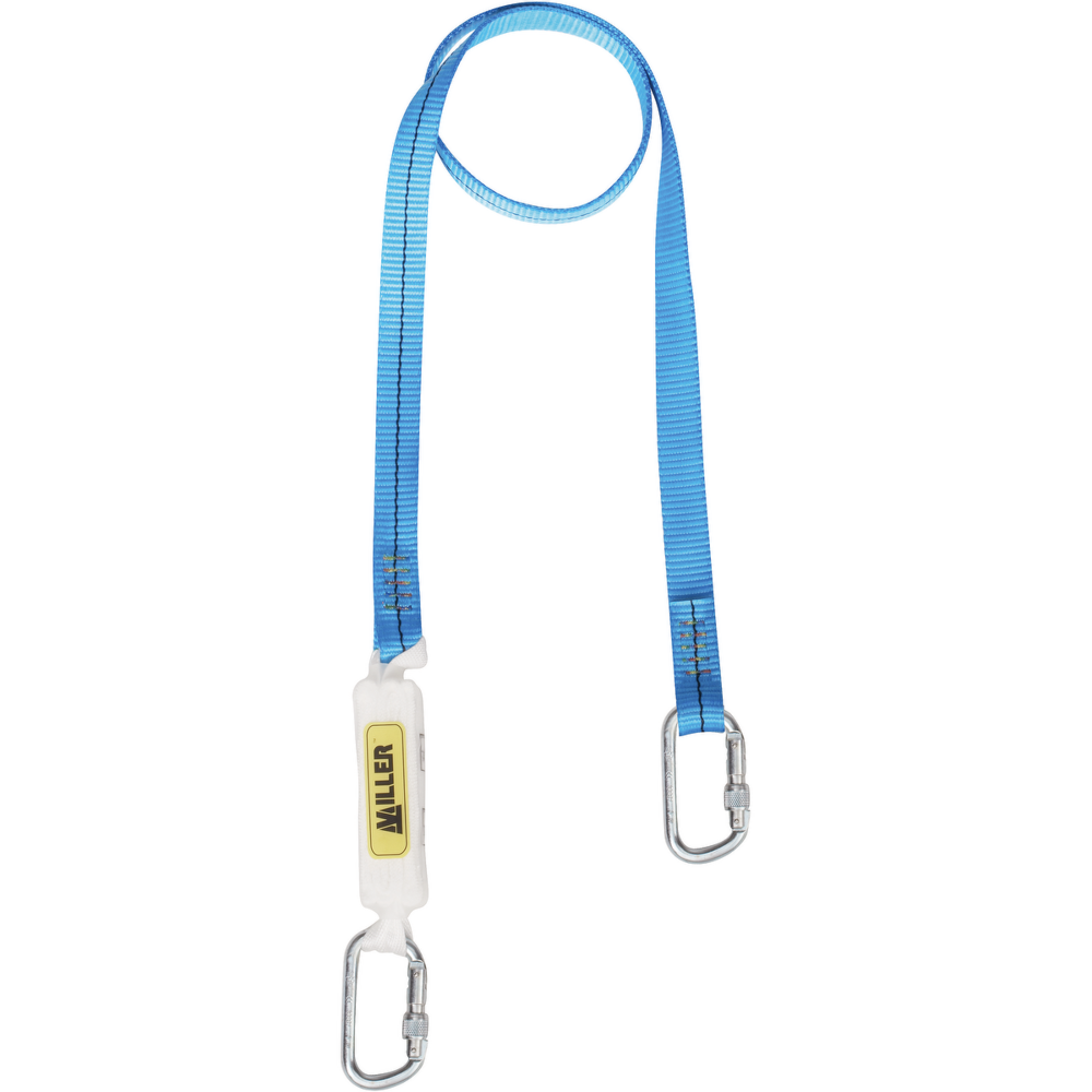 Honeywell Miller 1014330 Titan Shock Absorbing Lanyard with 2 Karabiners