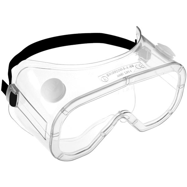 JSP AGC021-201-300 Martcare® Anti-Mist Dust Liquid Safety Goggles