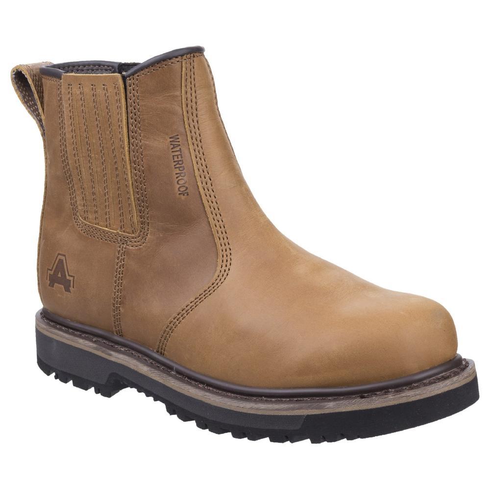 Amblers Kennoway Waterproof Full Grain Water Resistant Leather Men Dealer Boots