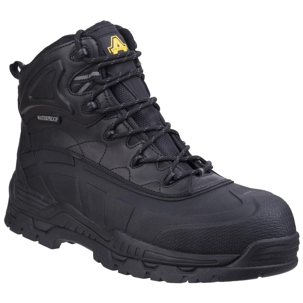 Amblers FS430 Orca Hybrid Waterproof Safety Boot Metal Free Black