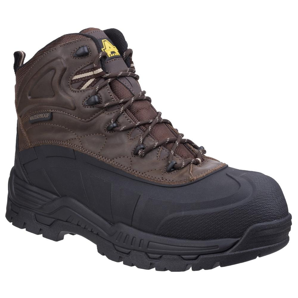 Amblers FS430 Orca Hybrid Waterproof Safety Boot Metal Free Brown