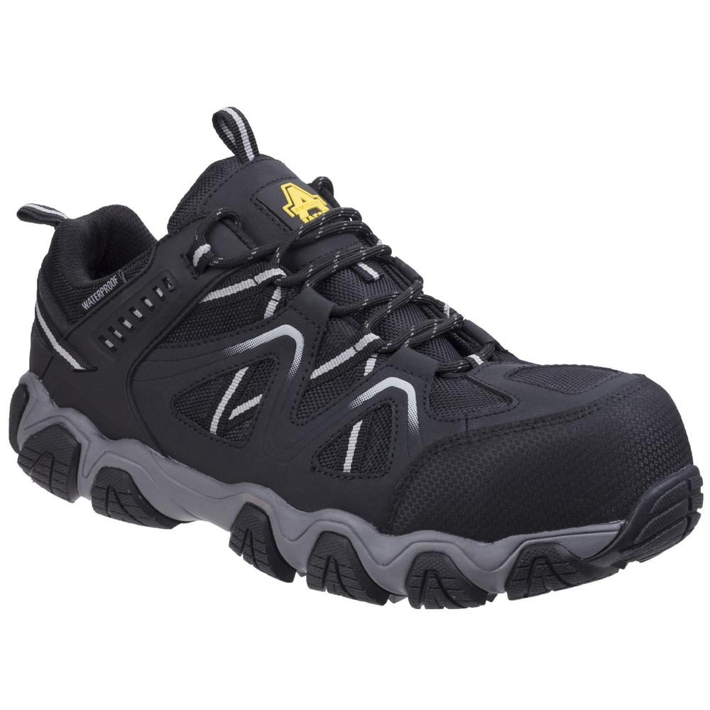 Amblers AS712 Oakham Waterproof Metal-Free Toe Cap S3 Safety Trainer Shoes
