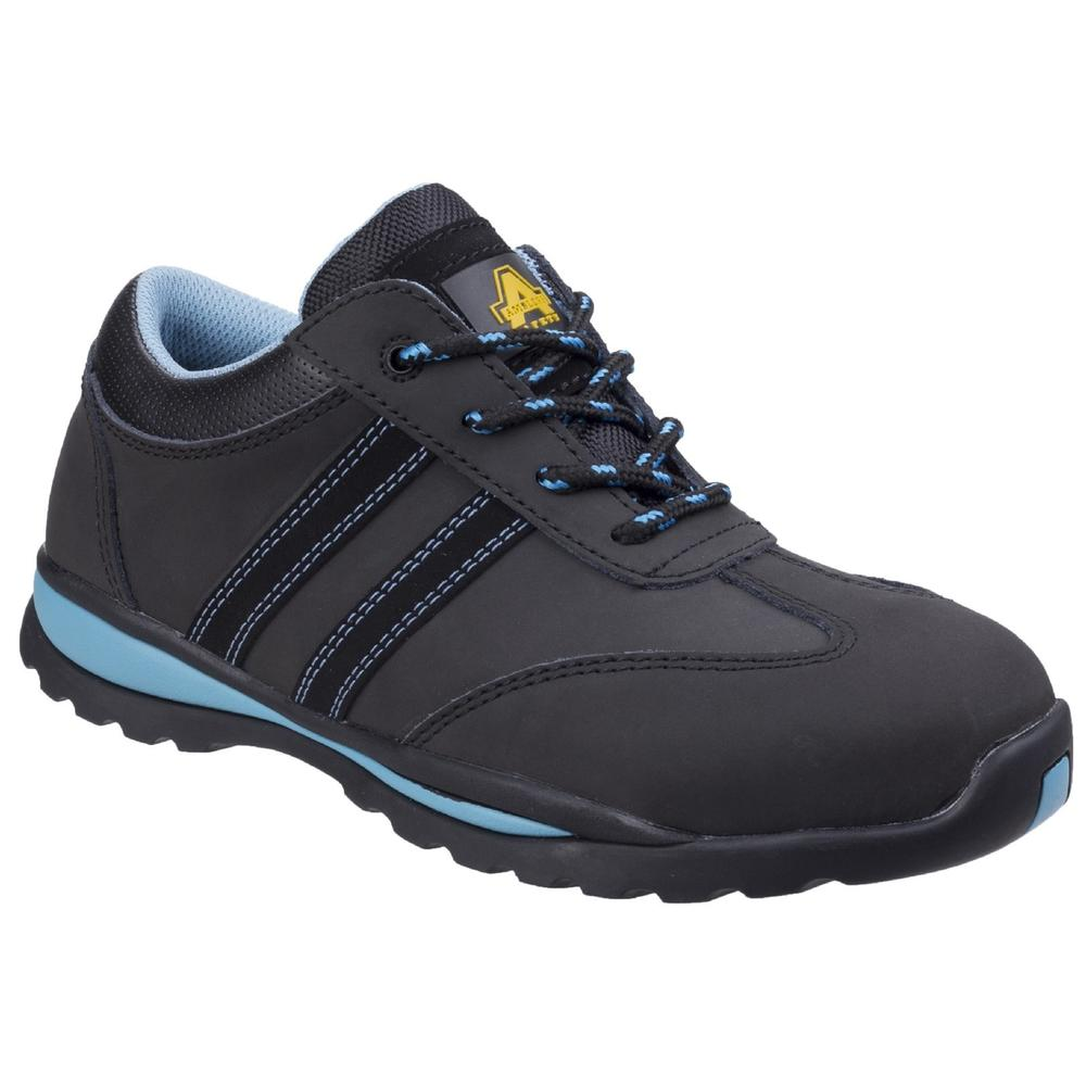 Amblers AS713 Steel Toe Cap and Midsole S1-P Ladies Safety Trainer Shoes