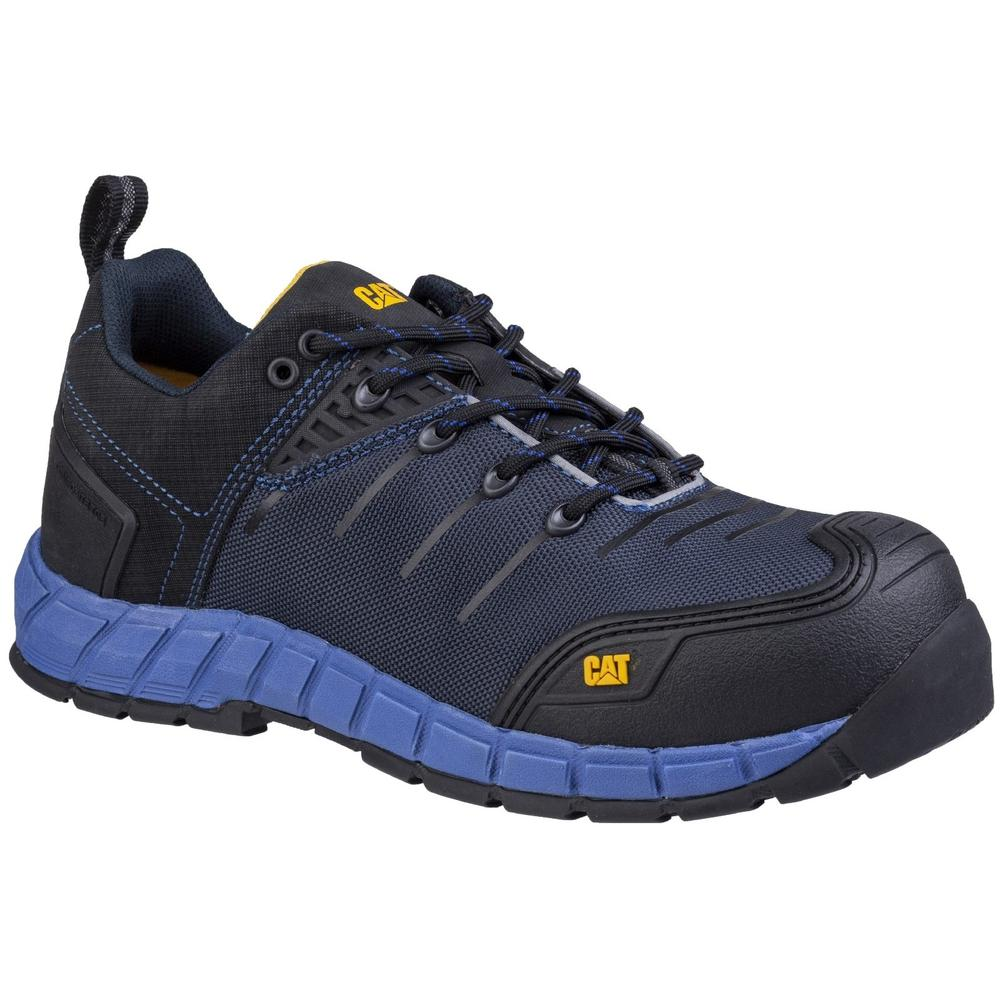CAT Byway Metal-Free Composite Toe Cap S1-P Safety Trainer Shoes Blue