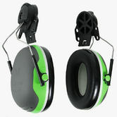3M Peltor X1P3 SNR 26dB Ear Defenders Helmet Attachment Green