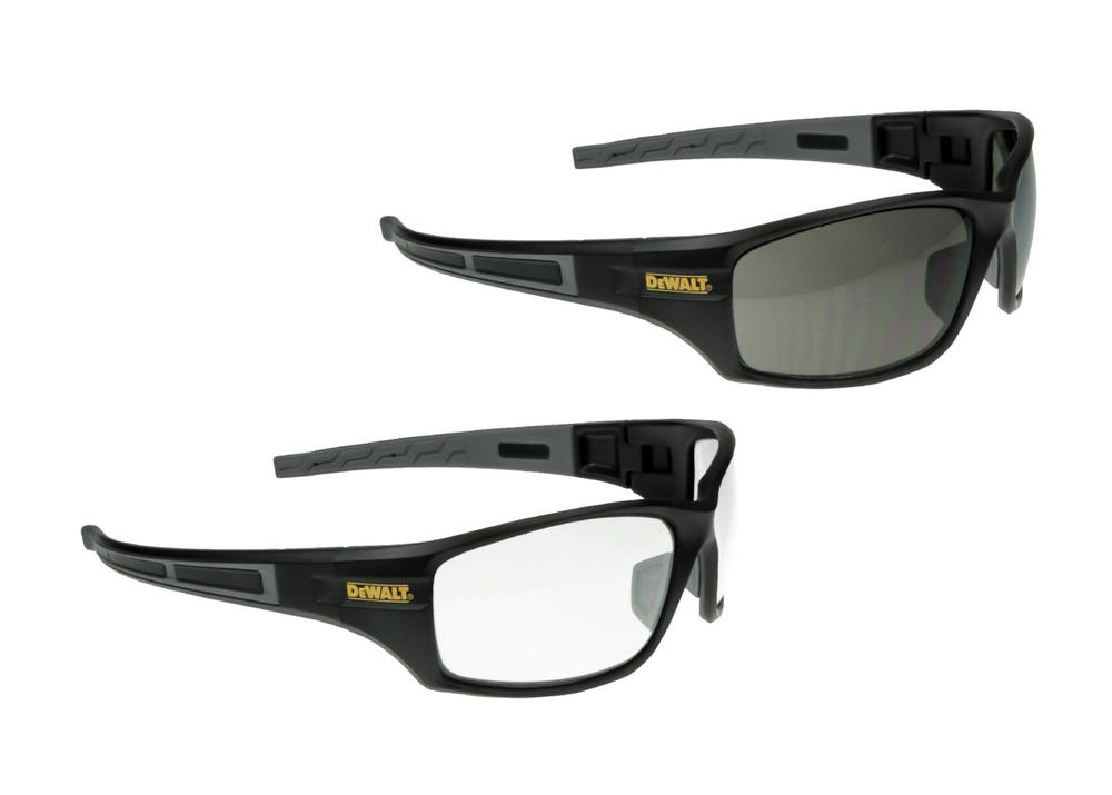 DeWALT Auger Unisex Full Wraparound Design Safety Spectacles