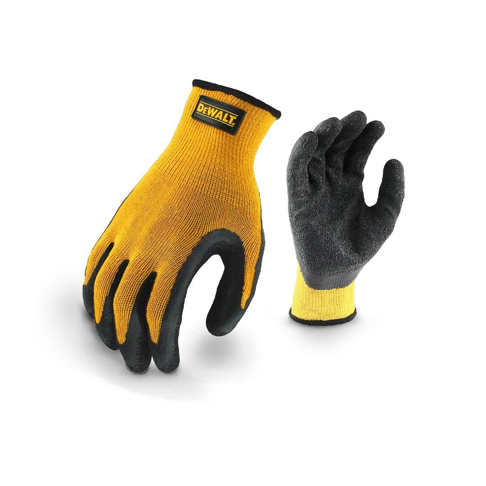 DeWALT DPG70L Gripper Latex Coated Work Gloves