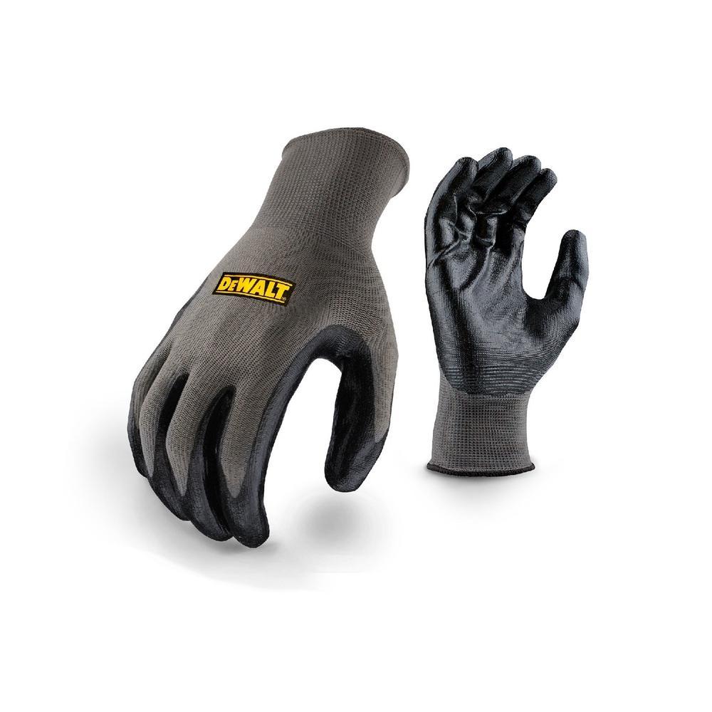 DeWALT DPG66L Gripper Men Work Gloves Nitrile Coated