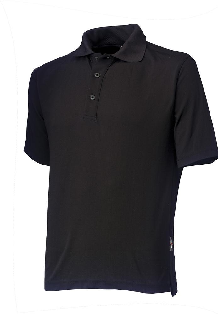 Helly Hansen Liverpool 79044 Pique Polo Shirt - Black