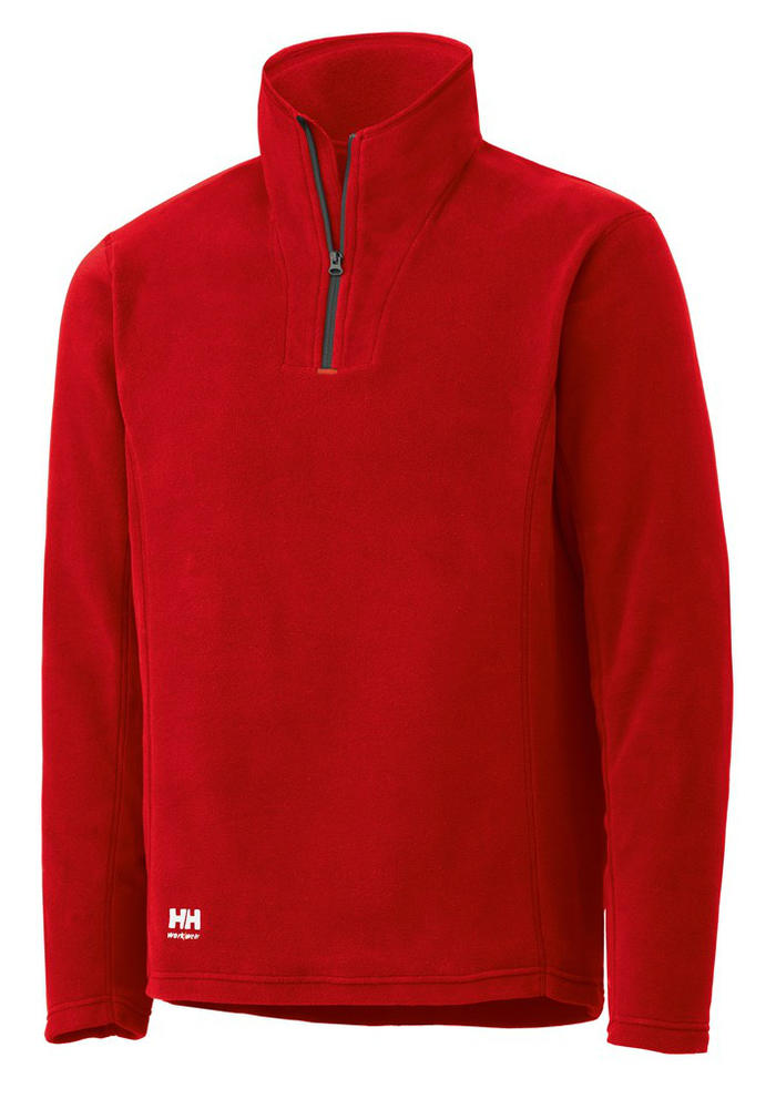 Helly Hansen 72047 Richmond Fleece Sweater - Red