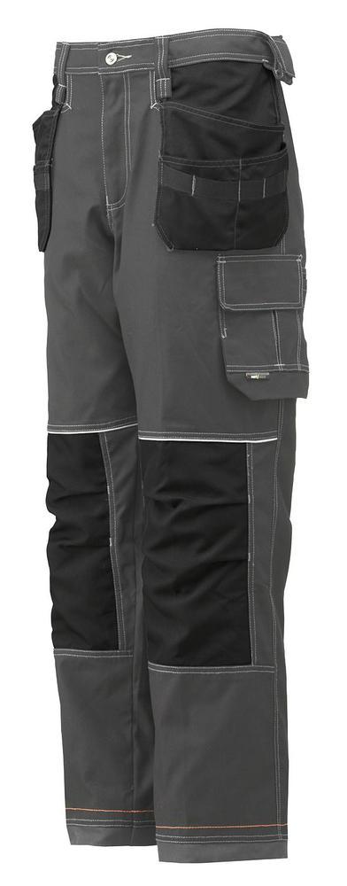 Helly Hansen 76441 Chelsea Grey-Black Construction Trousers