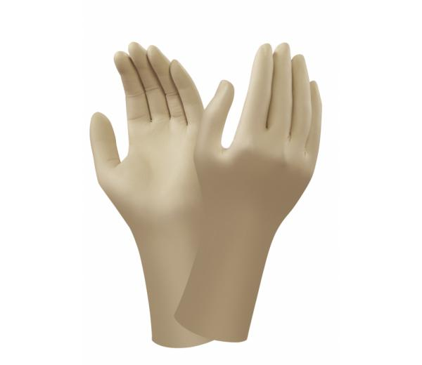 Ansell 91-325 AccuTech Natural Rubber Latex Powder-Free Disposable Gloves
