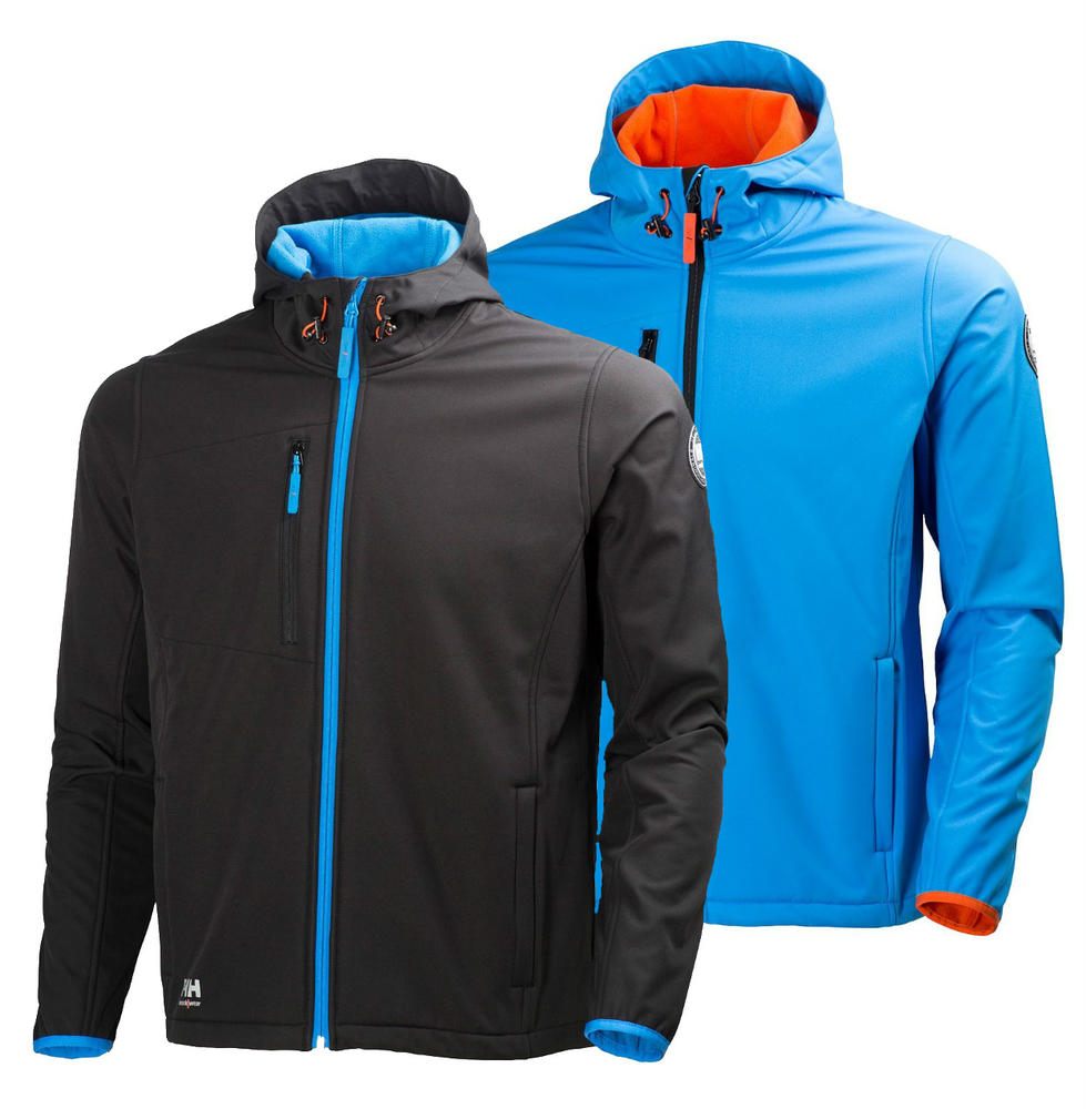 Helly Hansen 74010 Valencia Water Resistant Breathable Softshell Jacket