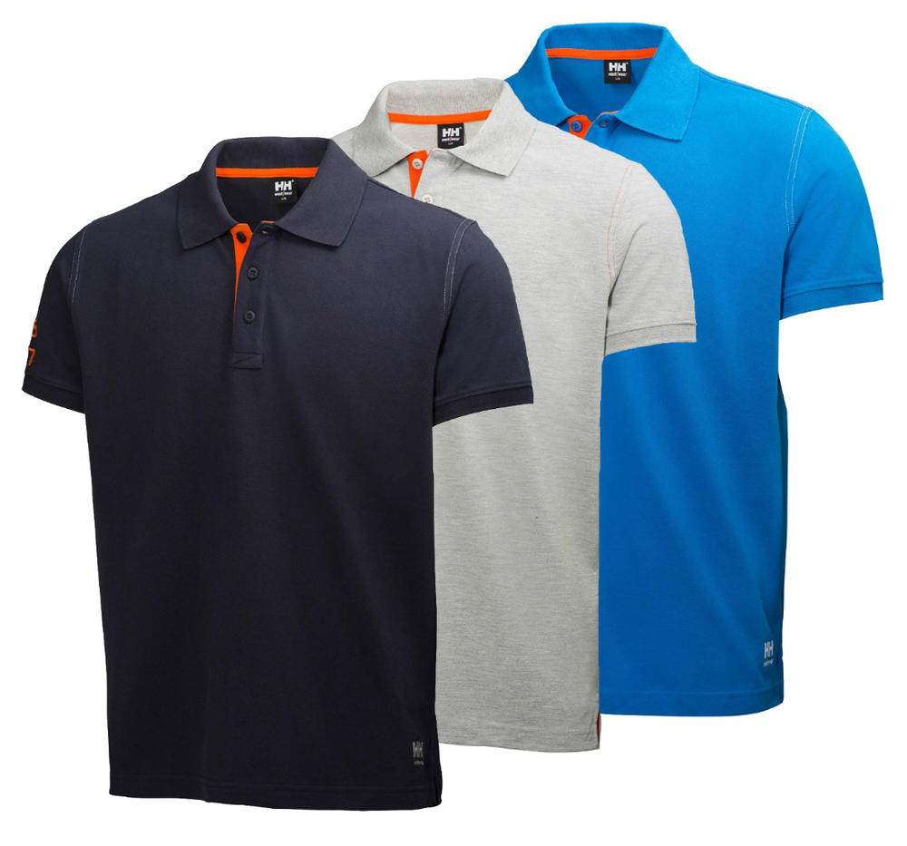 Helly Hansen 79025 Jersey Cotton Oxford Polo Shirt
