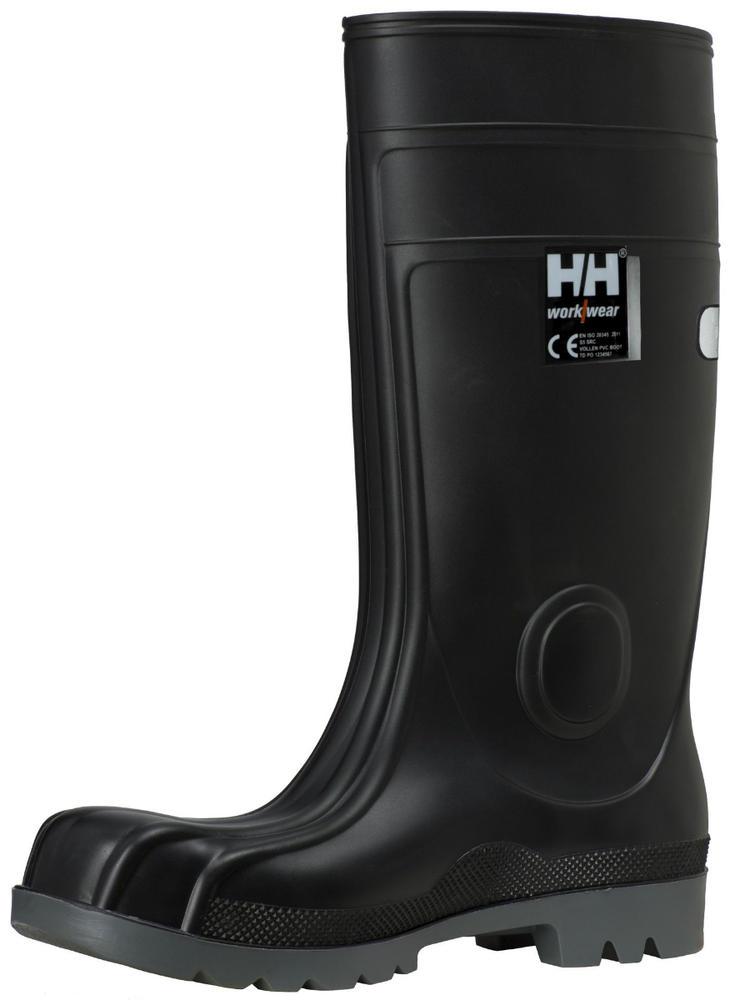 Helly Hansen 78308 Vollen S5 SRC PVC Black Wellington Boots