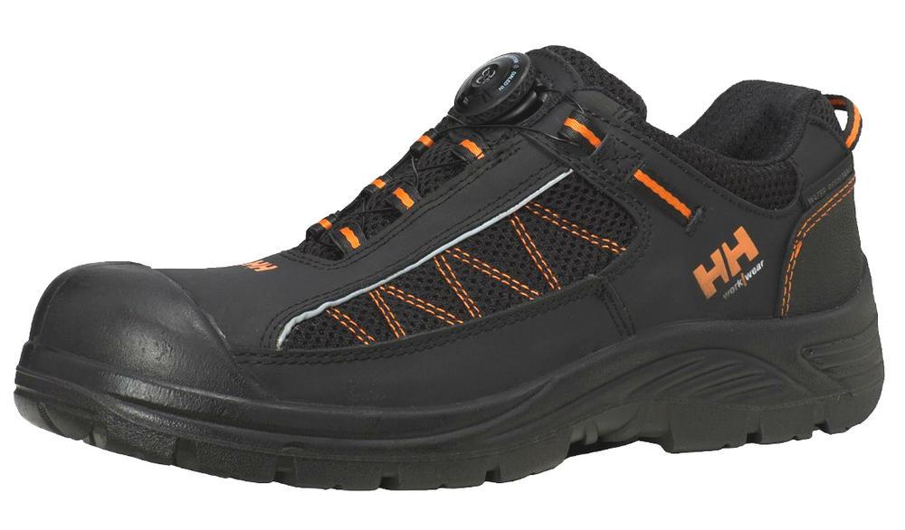 Helly Hansen 78211 Alna Mesh Boa Composite Toe S3 Black\Orange Safety Shoe, Size - 8UK