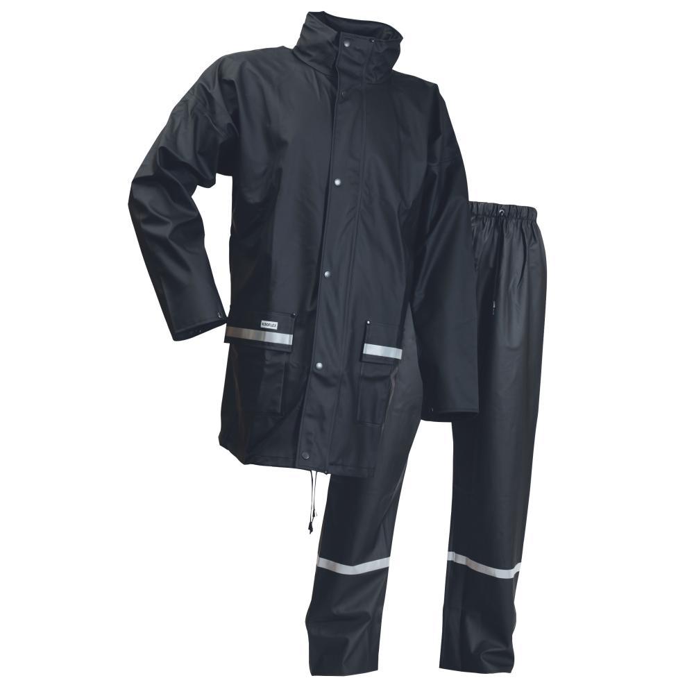 Lyngsoe 2-Piece Jacket and Trousers Navy Rainsuit LR1389